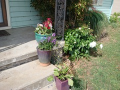 front porch planters
